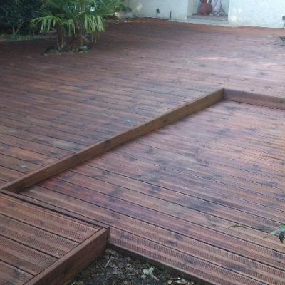 RENOVATION TERRASSE EN TECK